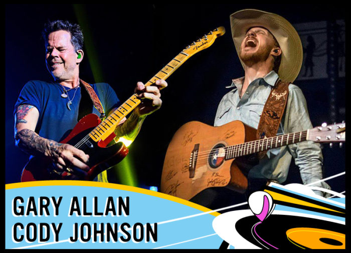 Gary Allan and Cody Johnson Talk