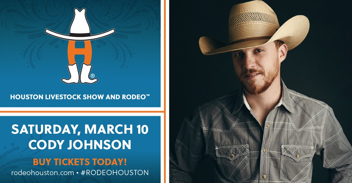 Get Your Cody Johnson RodeoHouston Tickets TODAY!