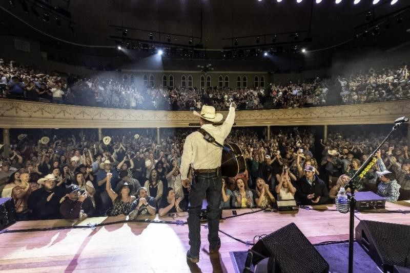 CODY JOHNSON PERFORMS FOR SOLD-OUT CROWD AT  LEGENDARY RYMAN AUDITORIUM