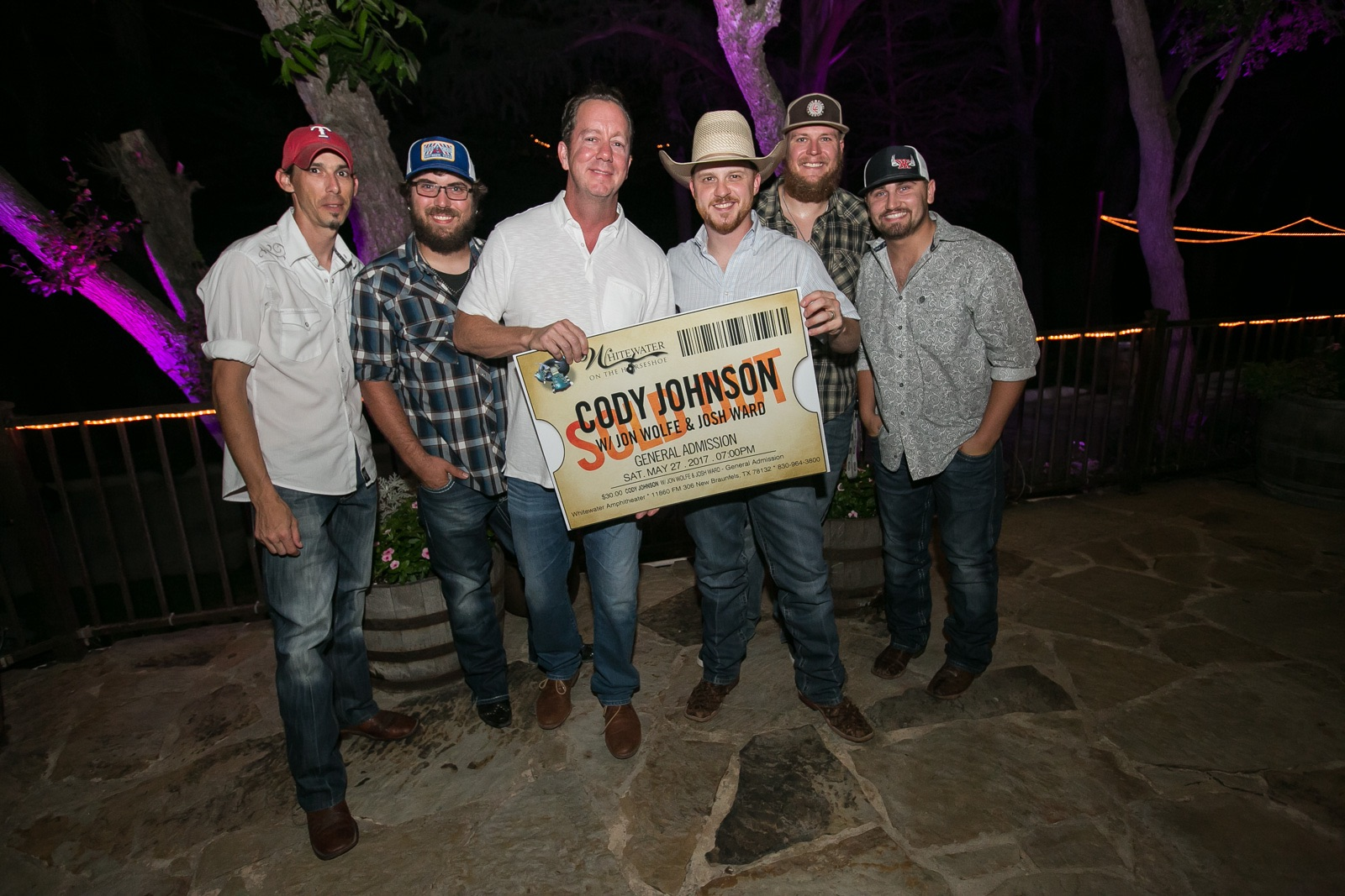Cody Johnson Sells Out Whitewater Show