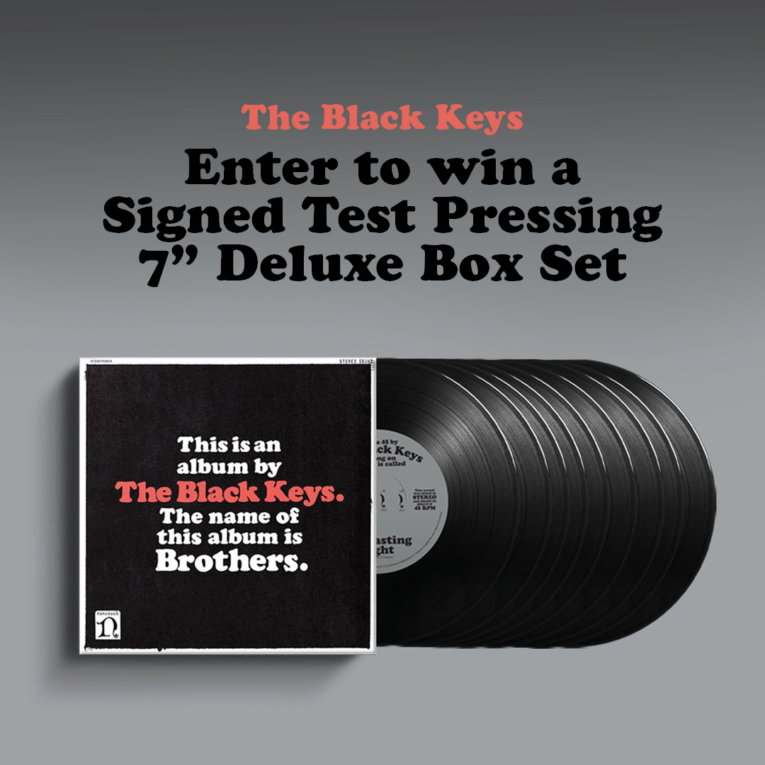 Autographed Test Pressing Brothers Deluxe Remastered 7 Box Set Giveaway