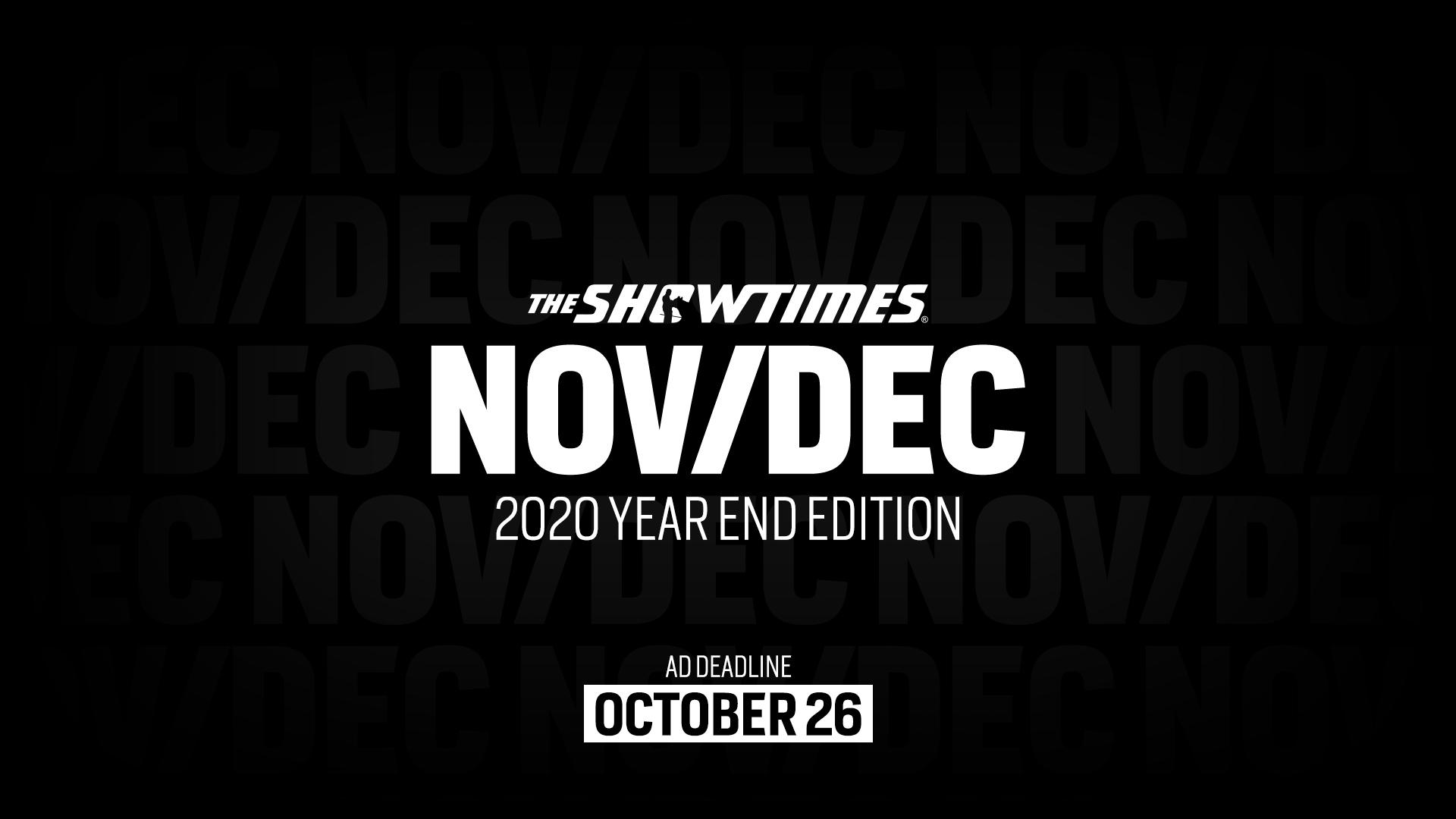Next Issue Nov/Dec 2020