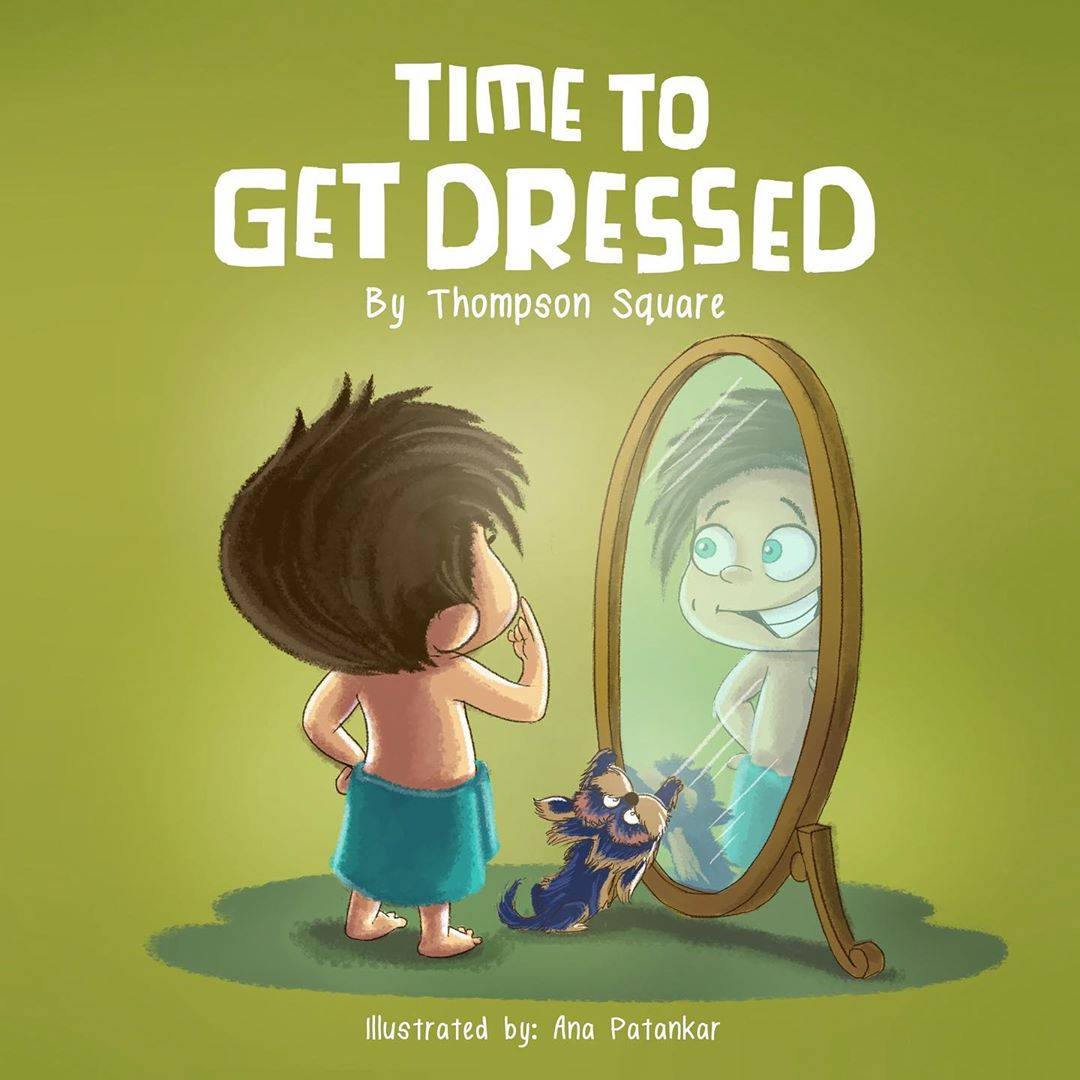 Enter To Win A Signed Copy of, 'Time To Get Dressed'!