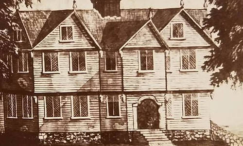 Massachusetts_MA_Titan_1 The Jonathan Corwin House, more commonly known as The Witch House, was located at the corner of Essex and North Streets and built in the early 17th century.