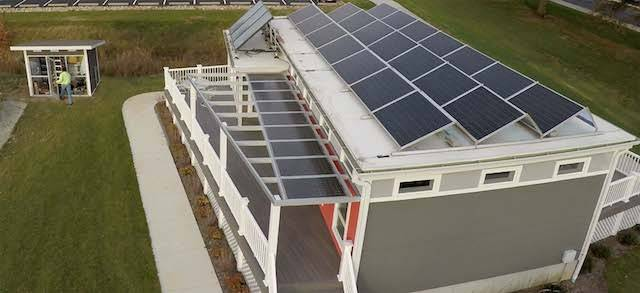 Titan_Energy_Share Renewable-energy-focused neighborhoods, like Missouri S&T's EcoVillage, may become hubs of energy storage and exchange, thanks to research by a Missouri S&T Ph.D. student.