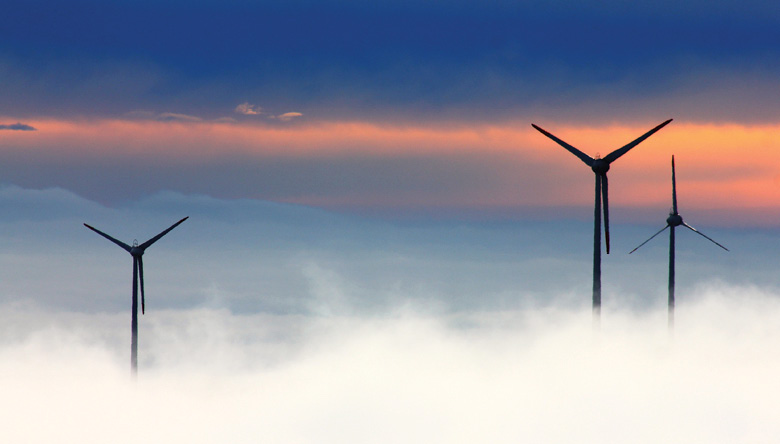 Wind_Power_Green_Titan_1 Wind turbines in the clouds. Credit: Pixabay.
