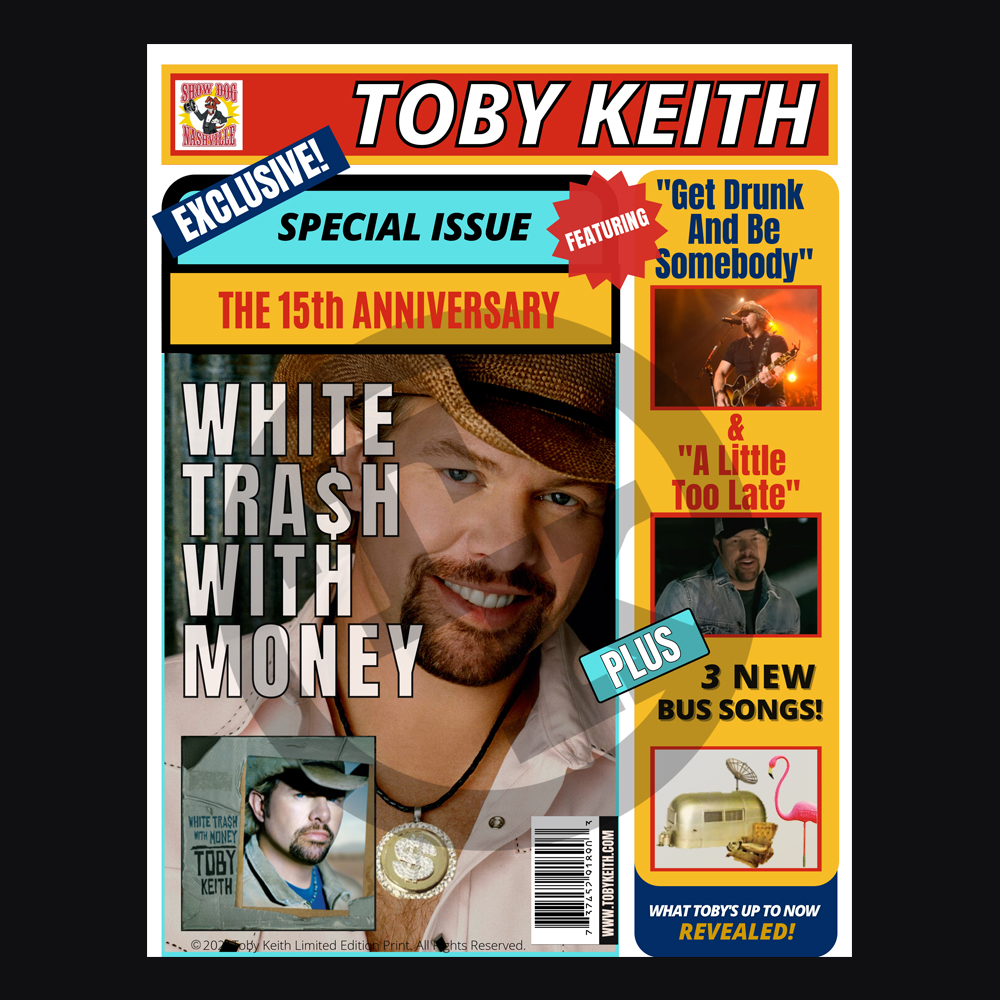 Toby Keith Warriors Fan Club Standard Package