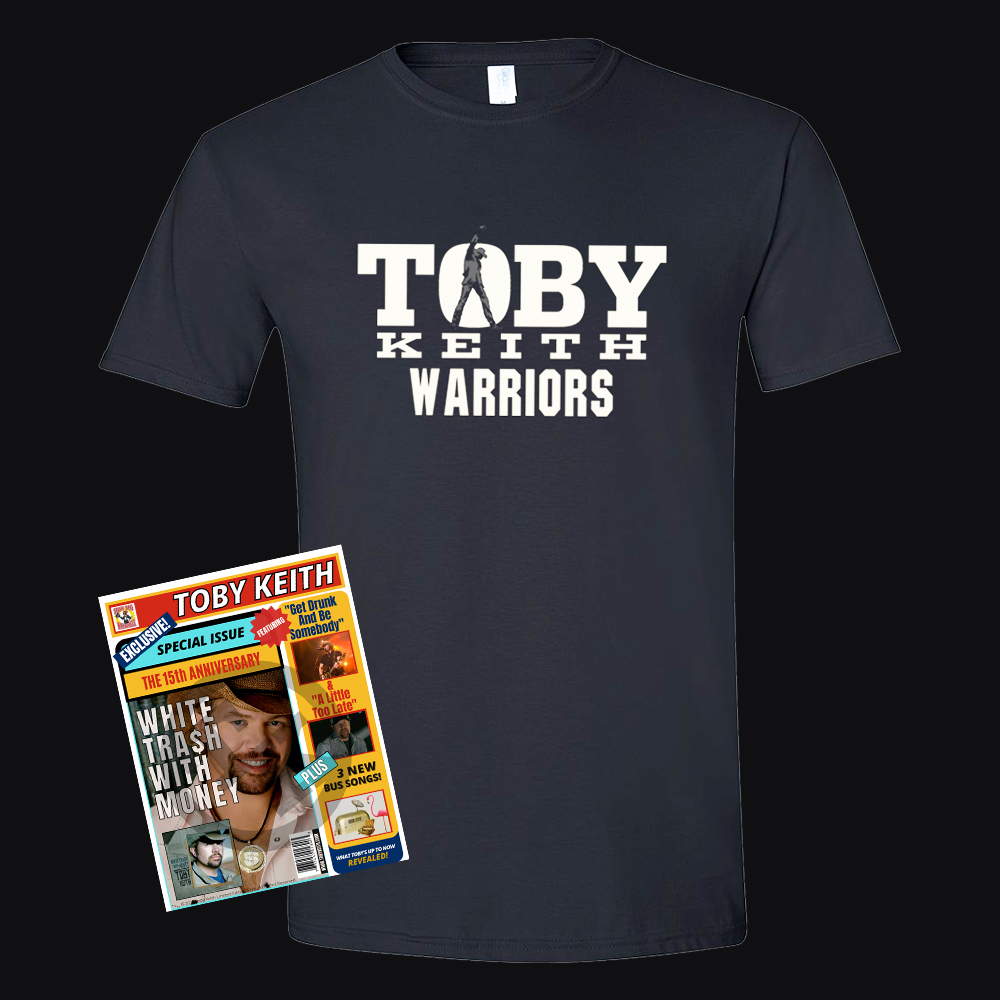 Toby Keith Warriors Fan Club Premium Package with T-Shirt