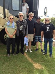 Todd with the band Canned Heat