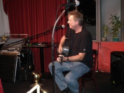Todd performing at the Tropical Songwriters in Paradise in Key West, Florida!