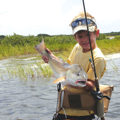 Catch of the month for Texas saltwater fishing magazine