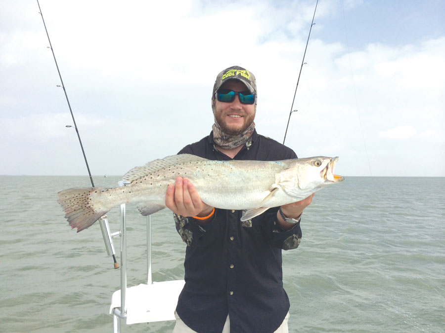 October 2015 for Texas saltwater fishing magazine
