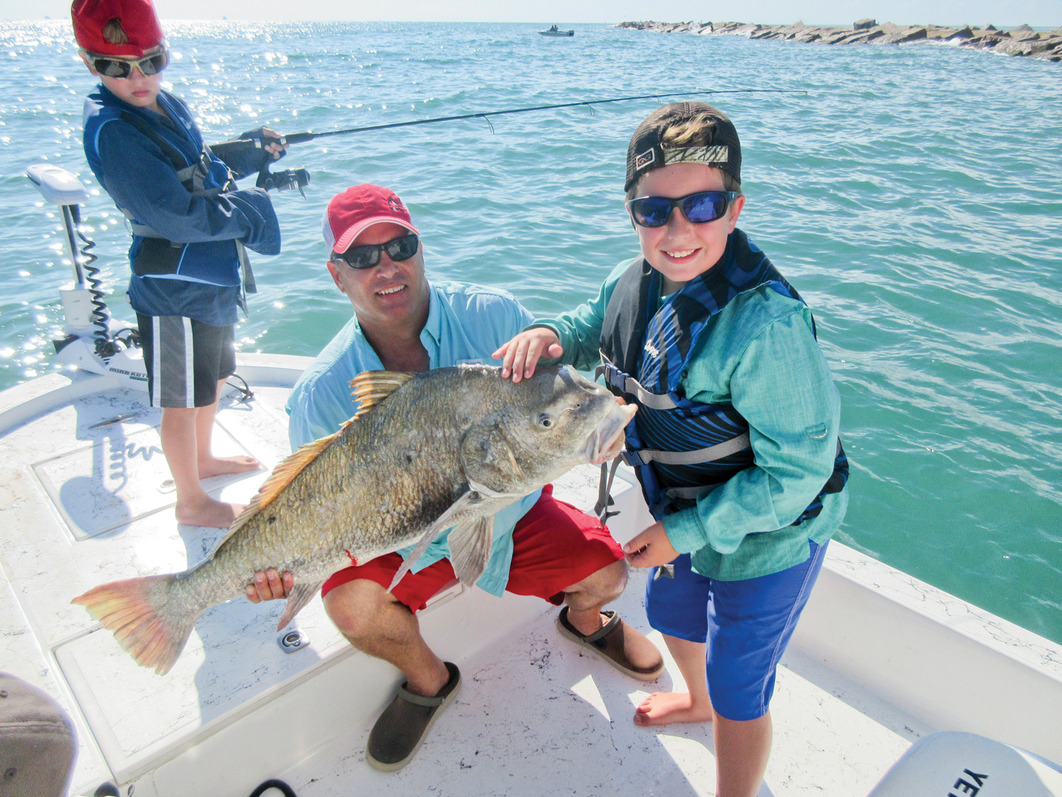 March 2018 for Texas saltwater fishing magazine