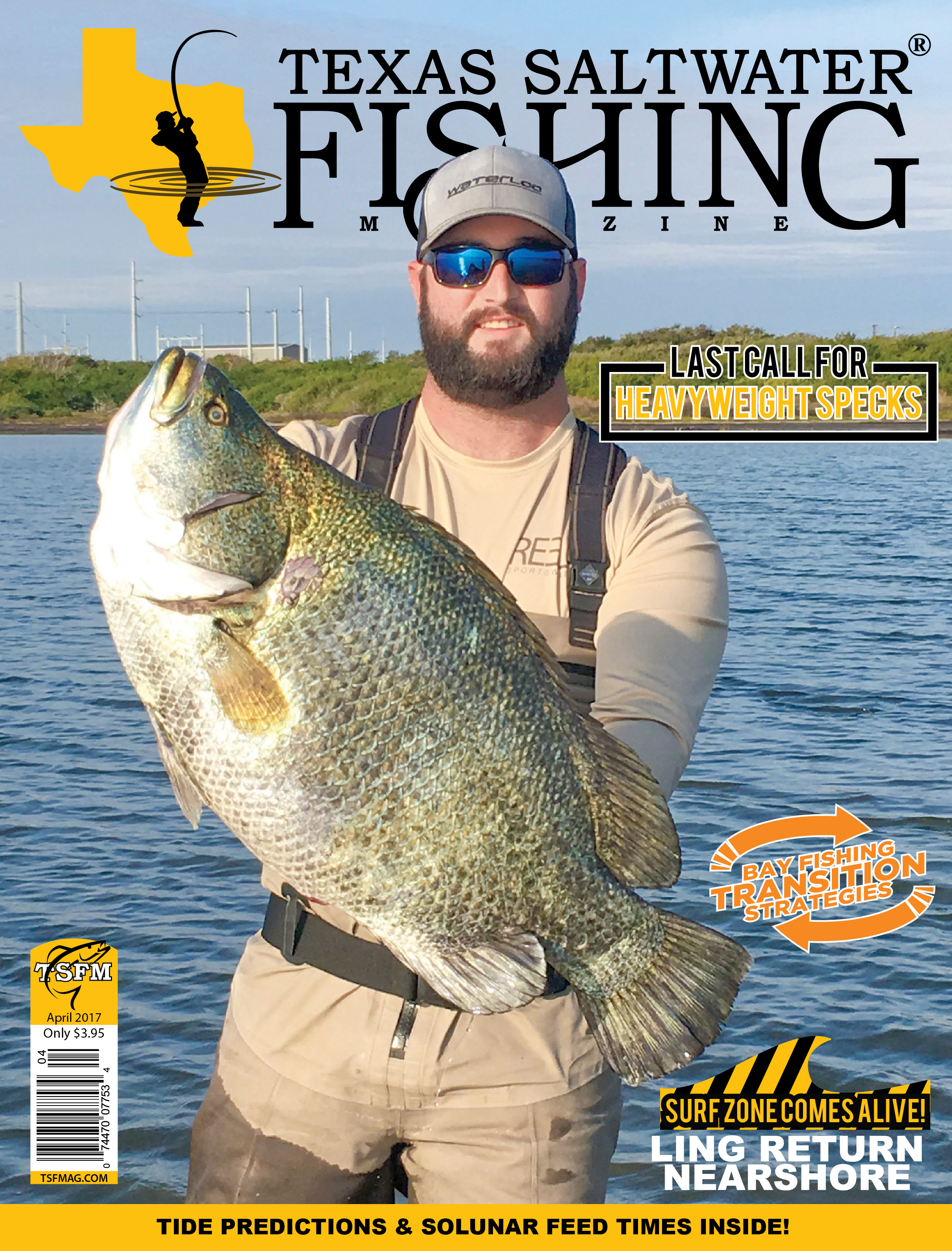 texas saltwater fishing magazine april 2017