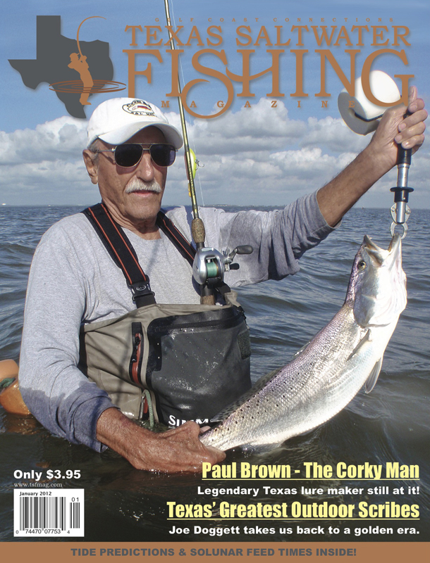 Texas saltwater fishing magazine january 2012 for Texas saltwater fishing magazine