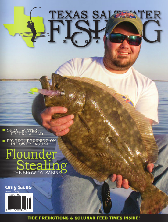 Texas saltwater fishing magazine january 2013 for Texas saltwater fishing magazine