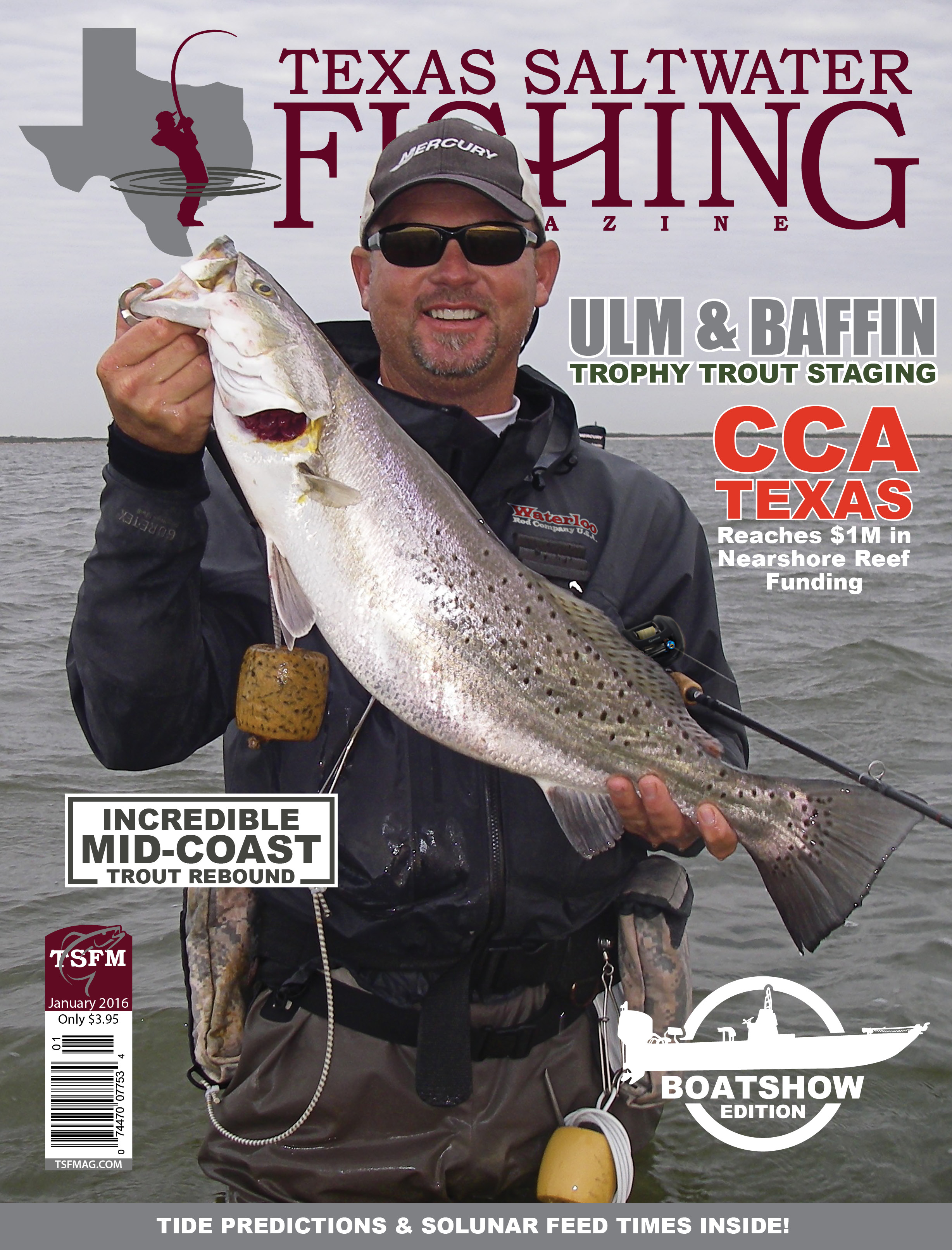 Texas saltwater fishing magazine january 2016 for Texas saltwater fishing magazine