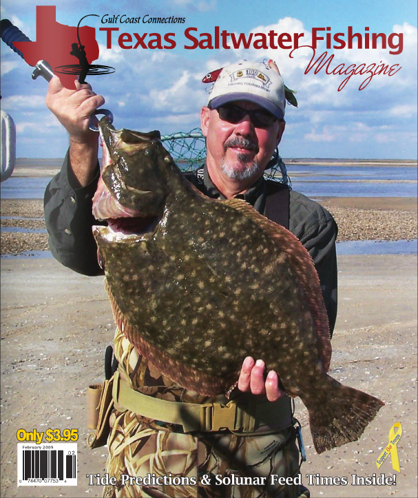 Texas saltwater fishing magazine february 2009 for Texas saltwater fishing magazine
