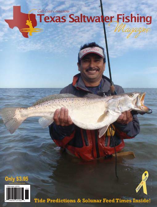 Texas saltwater fishing magazine february 2010 for Offshore fishing texas