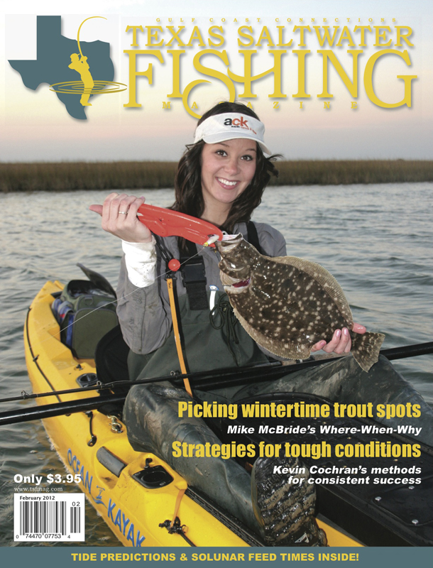 Texas saltwater fishing magazine february 2012 for Texas saltwater fishing magazine