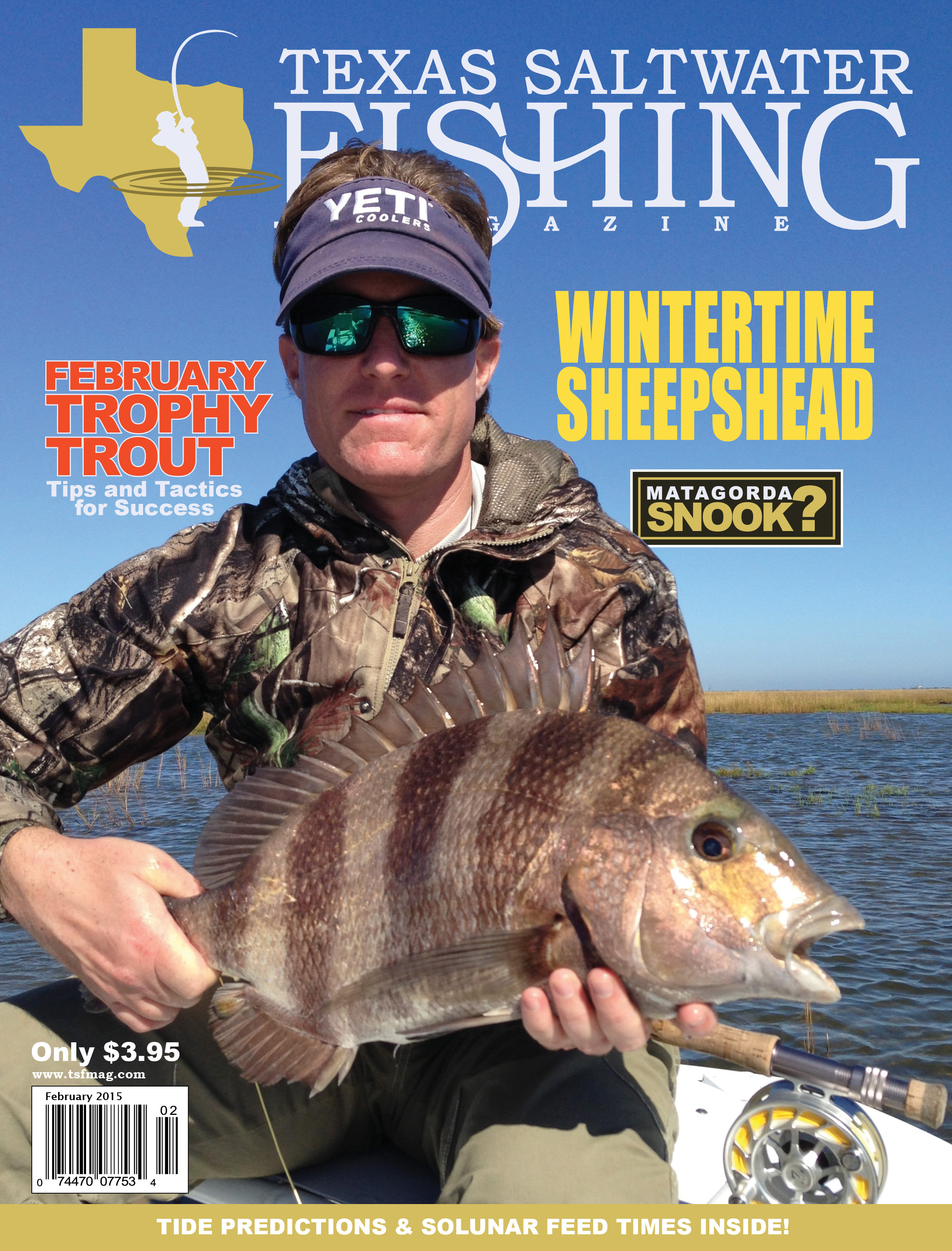 Texas saltwater fishing magazine february 2015 for Texas saltwater fishing magazine