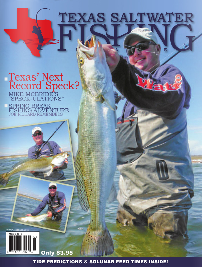 Texas saltwater fishing magazine march 2013 for Texas saltwater fishing magazine