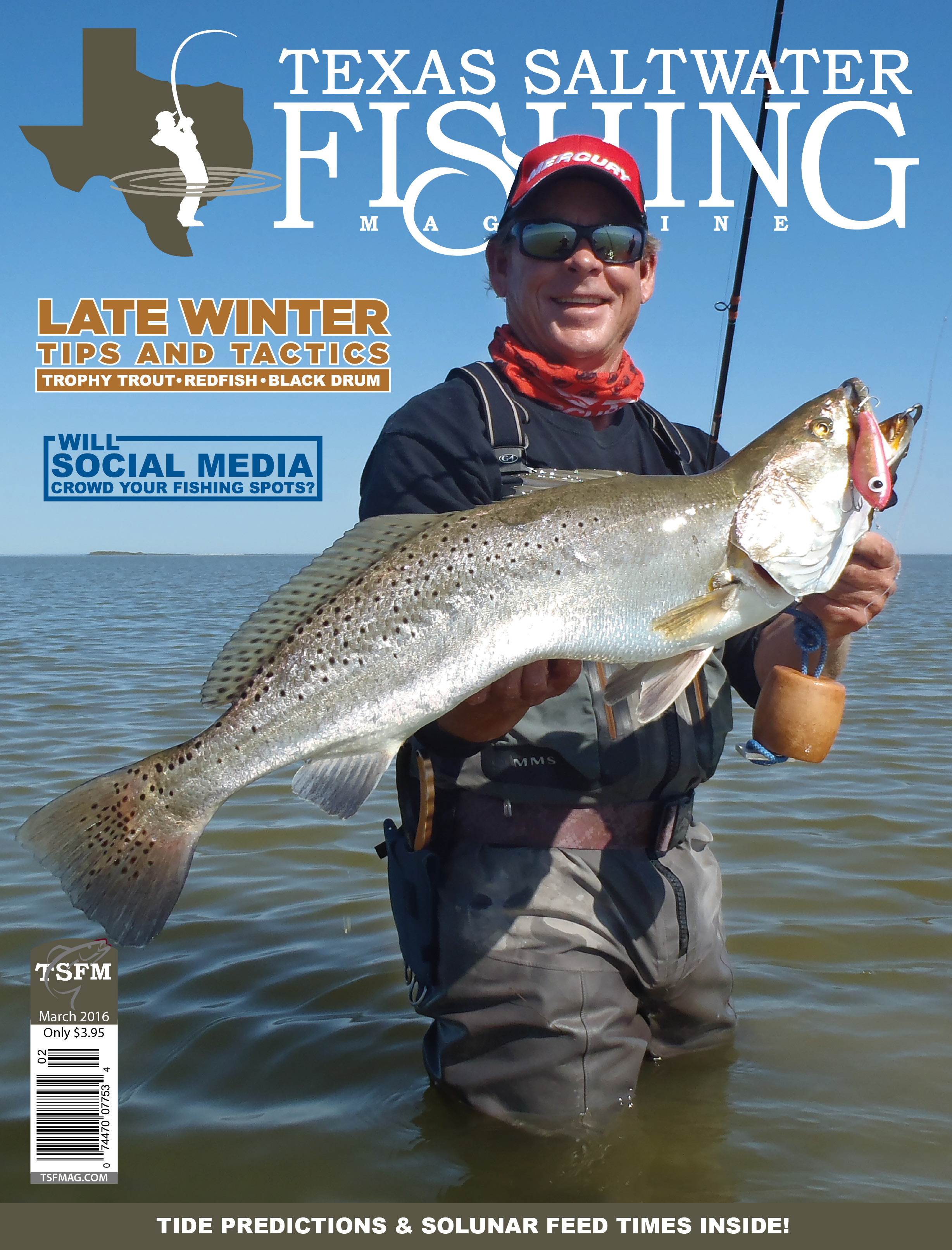 Texas saltwater fishing magazine march 2016 for Texas saltwater fishing magazine