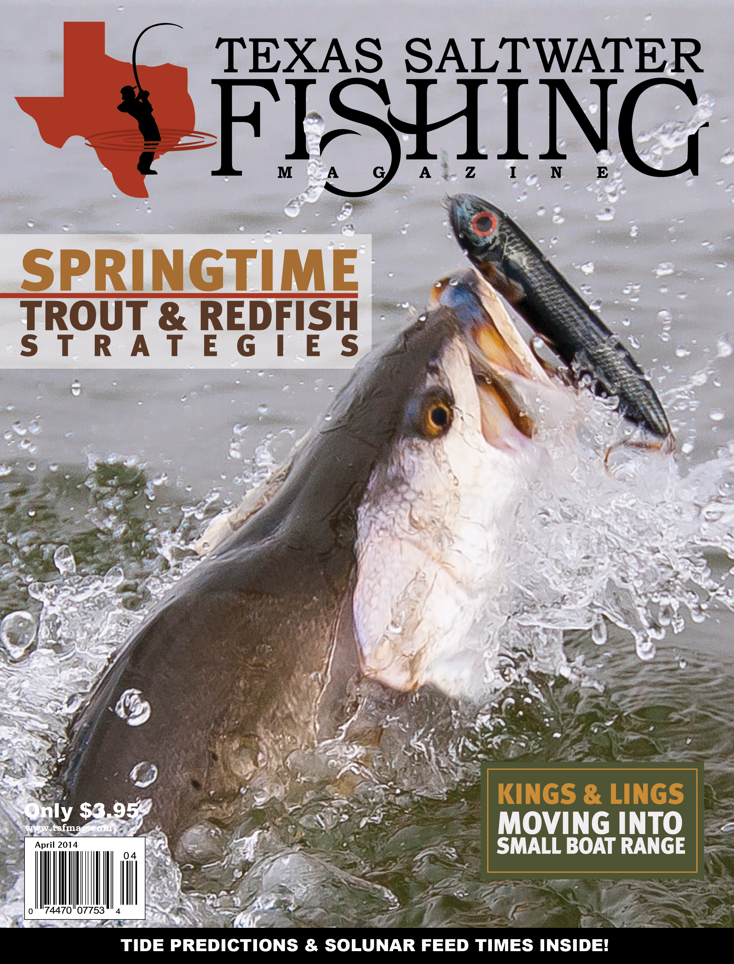 Texas saltwater fishing magazine april 2014 for Texas saltwater fishing magazine