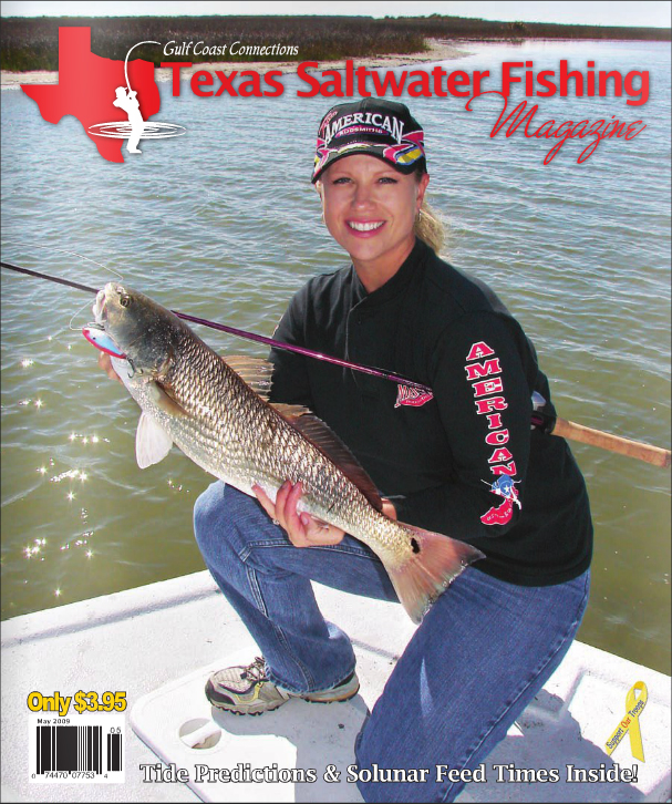 Texas saltwater fishing magazine may 2009 for Texas saltwater fishing magazine