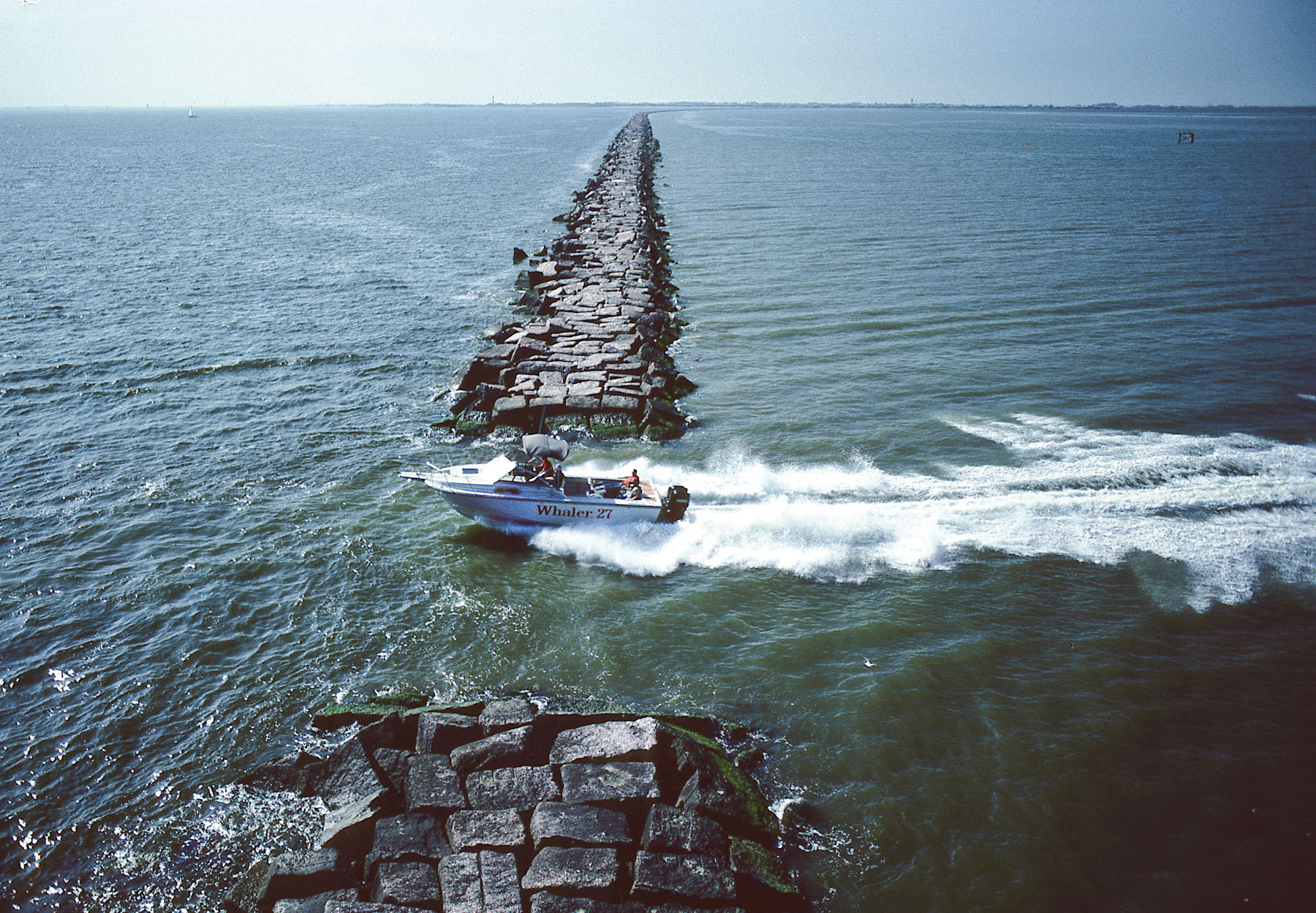 When boats were small and cheap for Galveston jetty fishing report