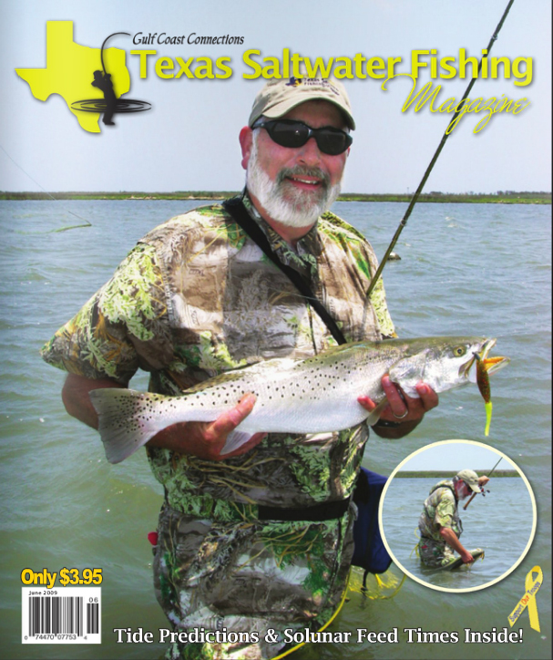 Texas saltwater fishing magazine june 2009 for Texas saltwater fishing magazine