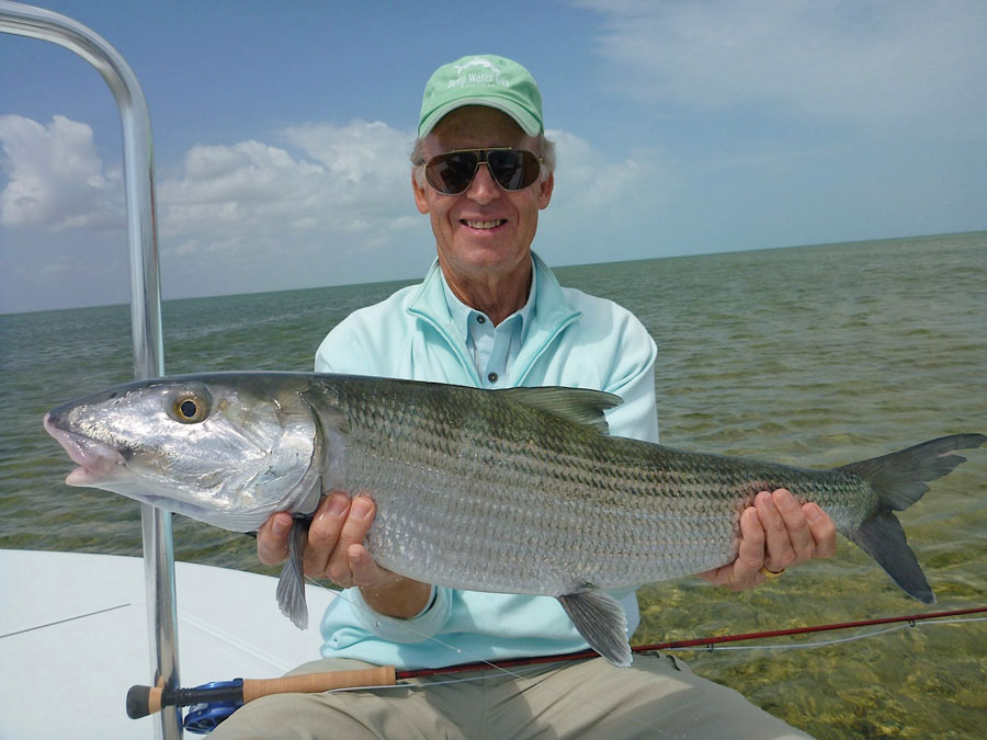 The 39 baffin bay 39 for big bonefish for Texas saltwater fishing magazine