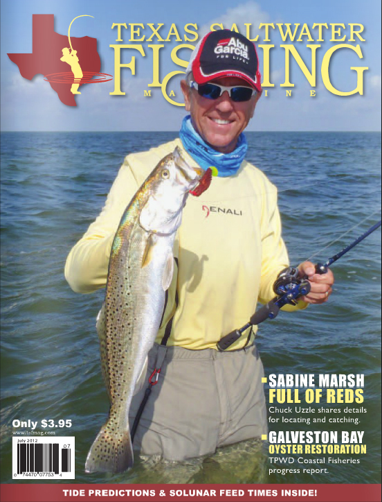 Texas saltwater fishing magazine july 2012 for Texas saltwater fishing magazine