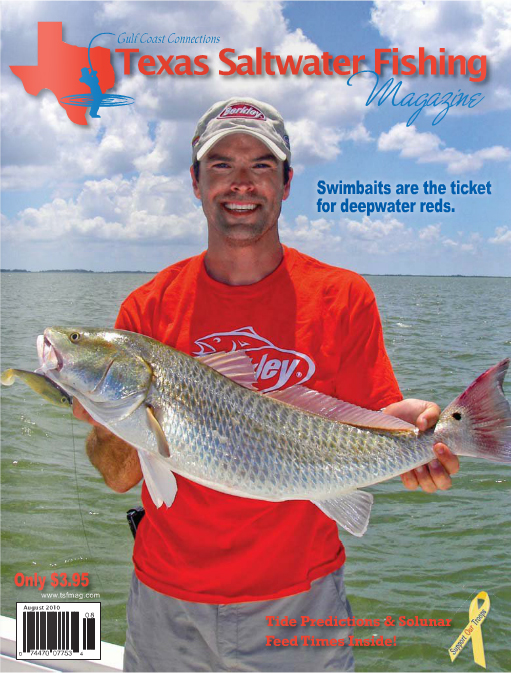 Texas saltwater fishing magazine august 2010 for Texas saltwater fishing magazine
