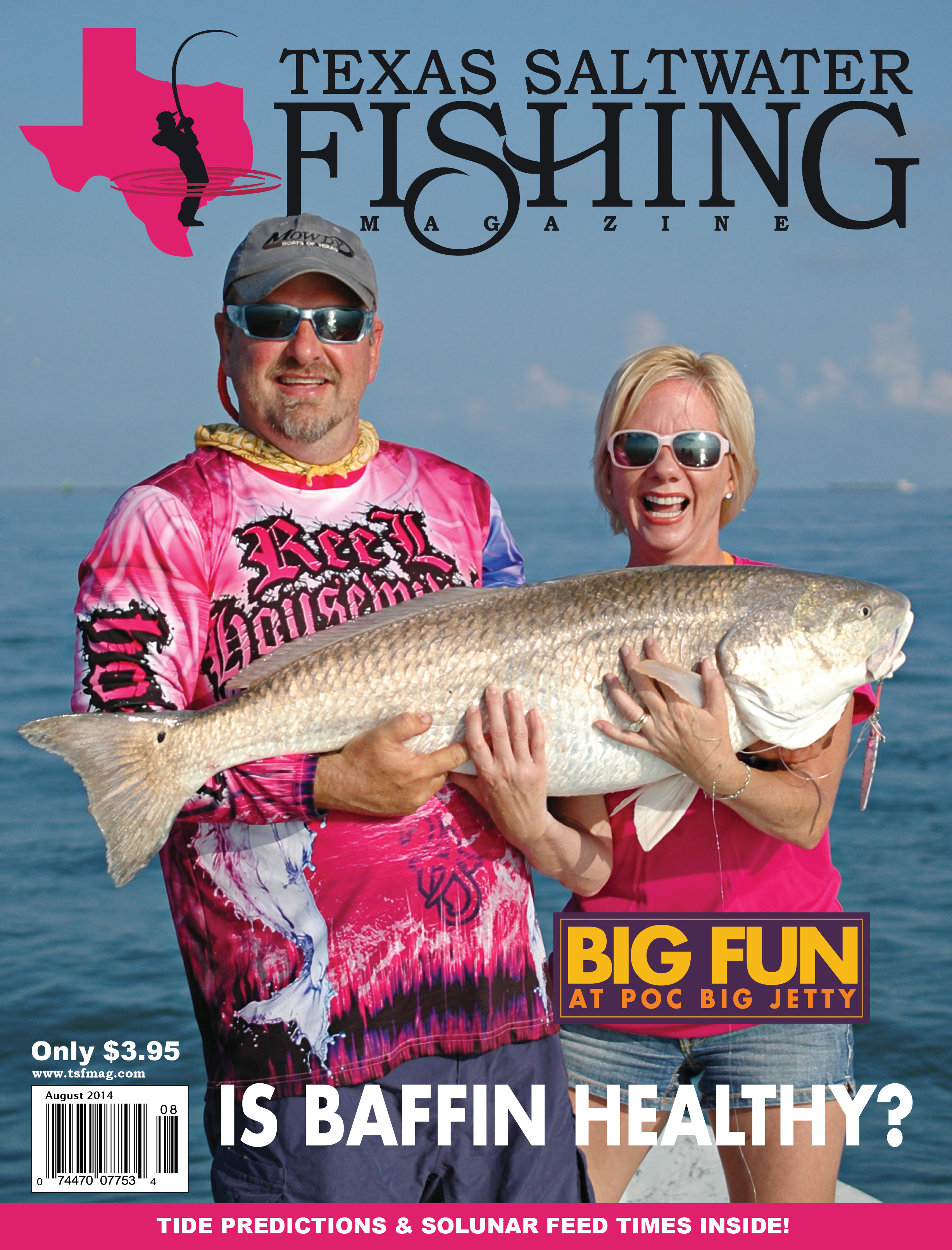 texas saltwater fishing magazine august 2014