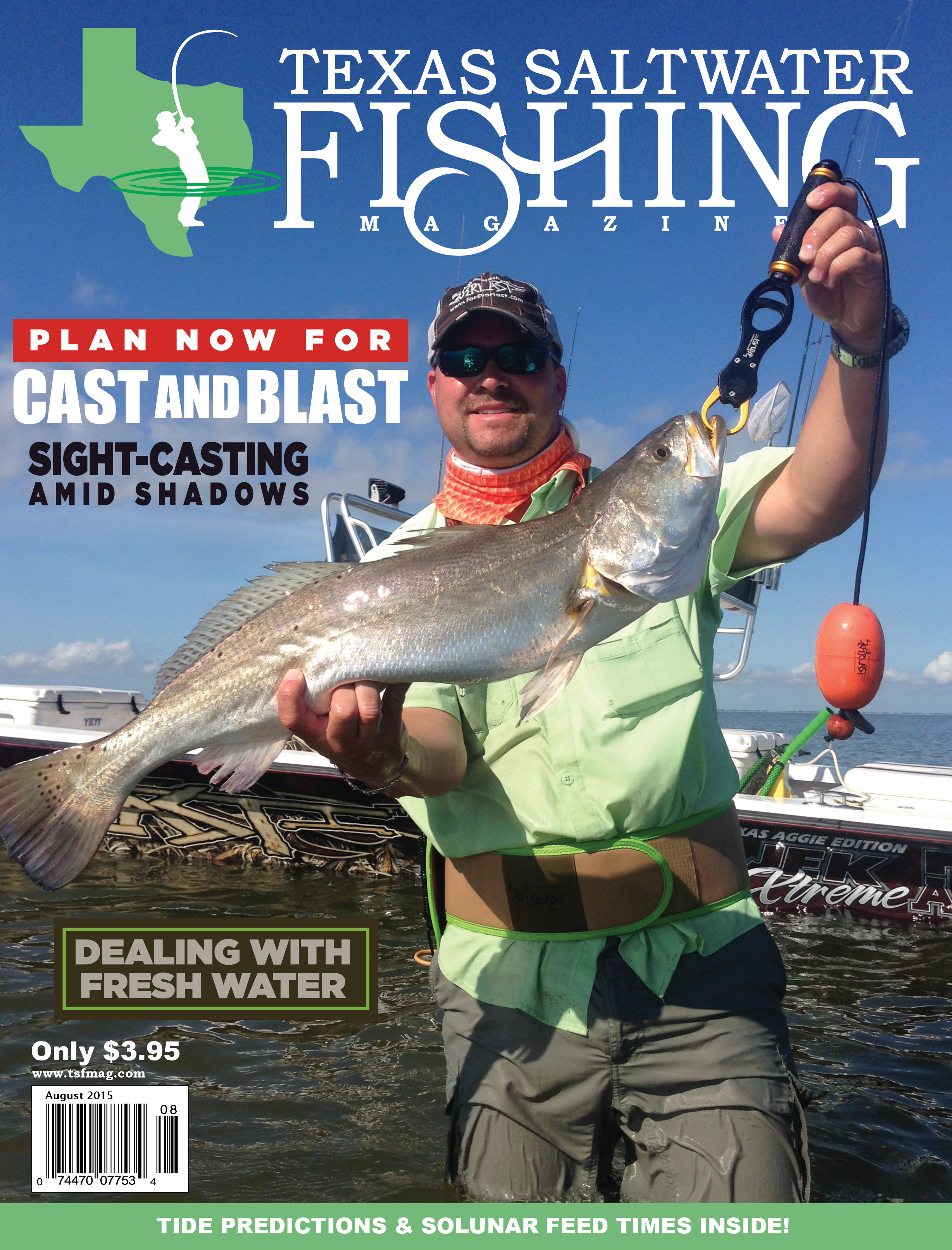 texas saltwater fishing magazine august 2015