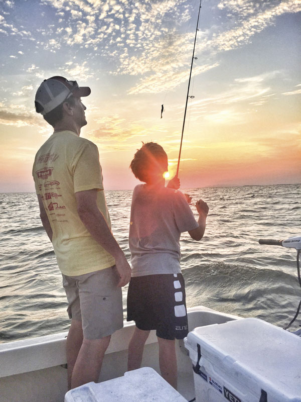 The buzz september 2016 for Take a kid fishing