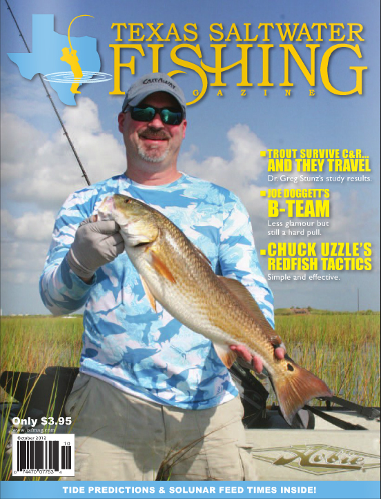 Texas saltwater fishing magazine october 2012 for Texas saltwater fishing magazine