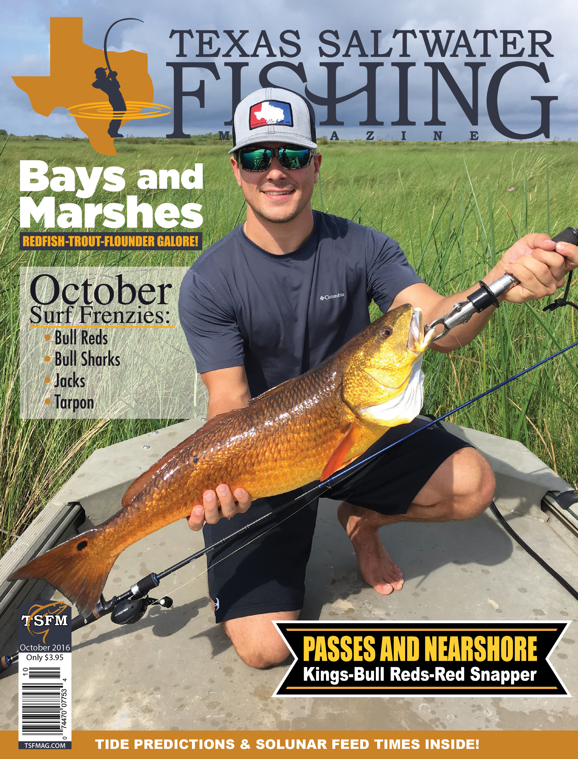Texas saltwater fishing magazine october 2016 for Texas saltwater fishing magazine