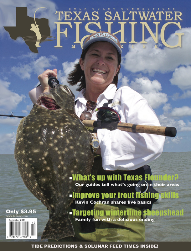 Texas saltwater fishing magazine december 2011 for Texas saltwater fishing magazine
