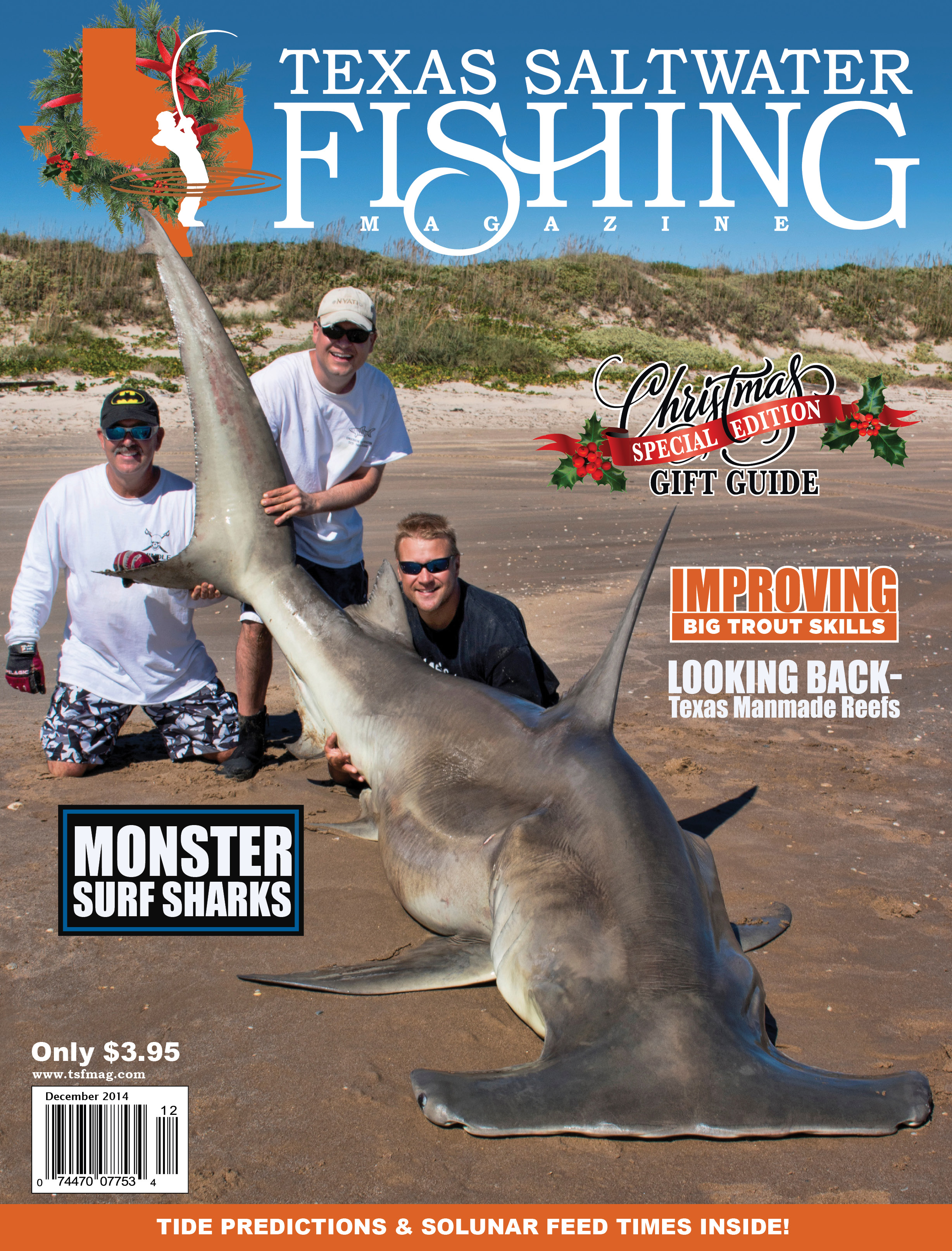 Texas saltwater fishing magazine december 2014 for Texas saltwater fishing magazine