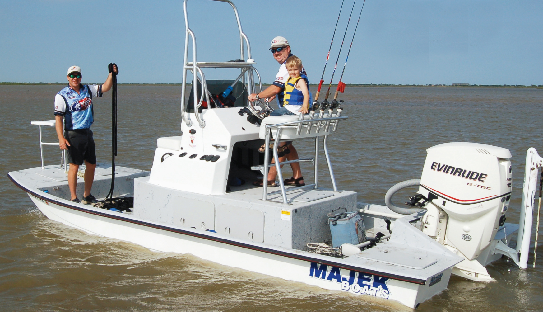 Tournament trails for Texas saltwater fishing magazine