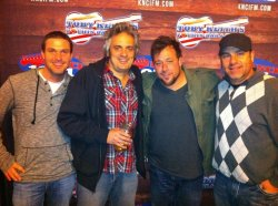 Uncle Kracker visits KNCI FM in Sacramento