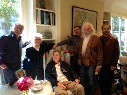 Oak Ridge Boys stop by to see President George H. W. Bush