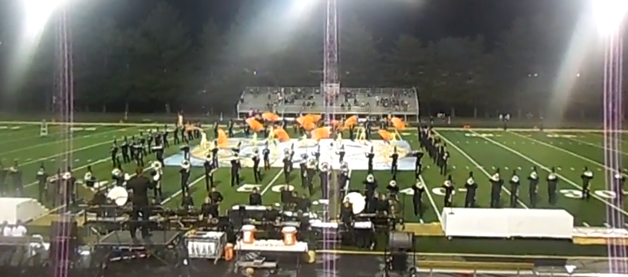 The Jasper High School Marching Band