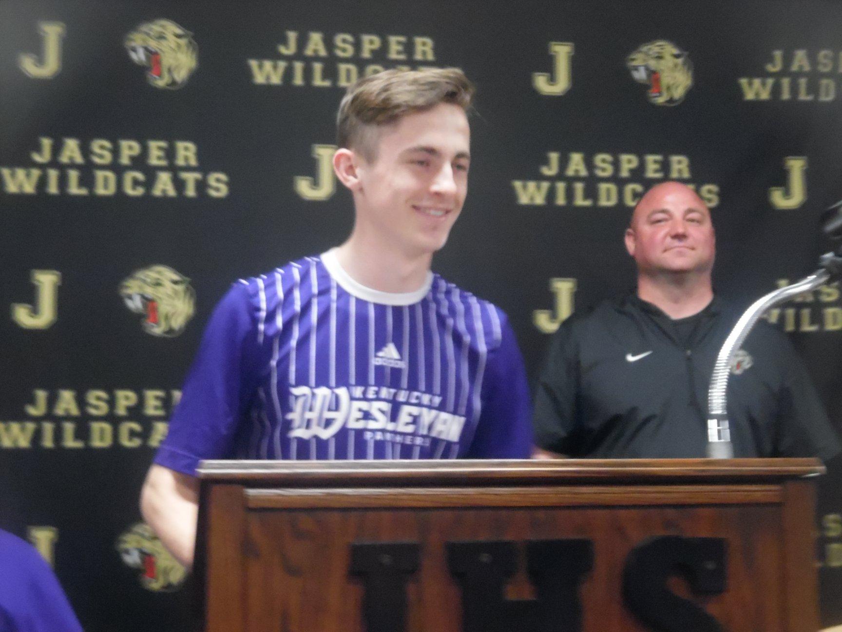 Tyler Hunt headed to Kentucky Weslyan for Soccer
