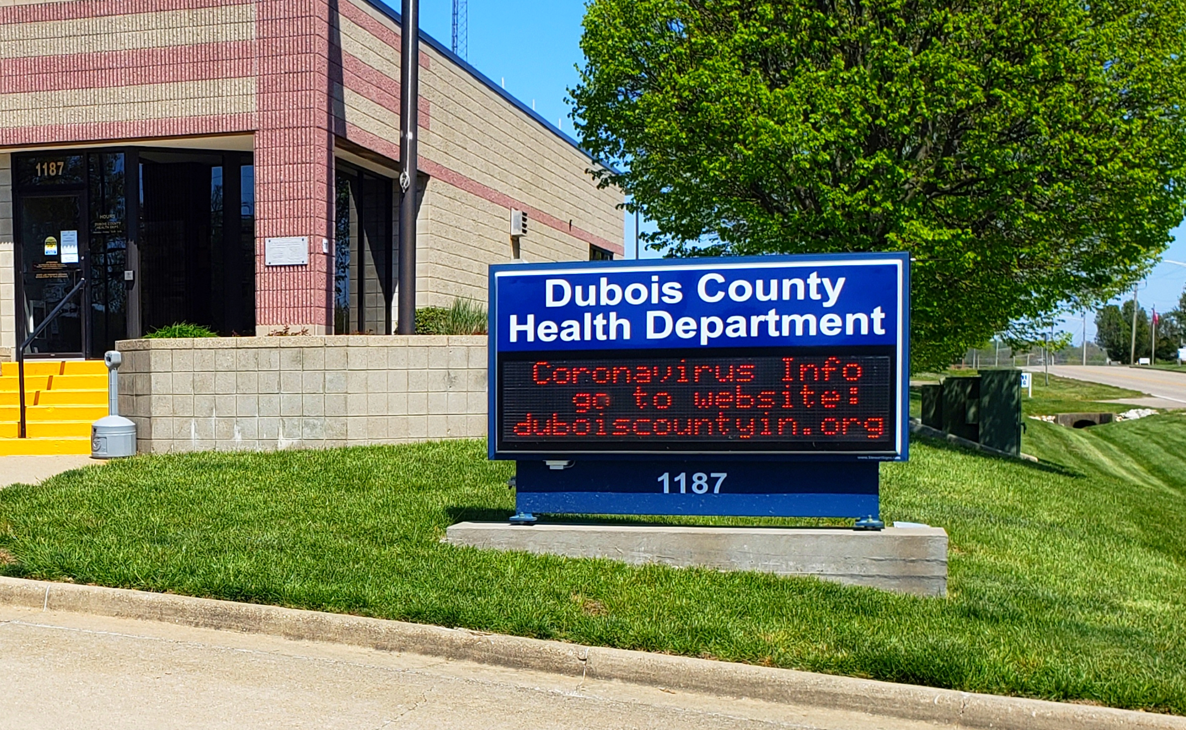 Dubois County Remains at CODE ORANGE, Reports Five New Cases of COVID Friday Morning