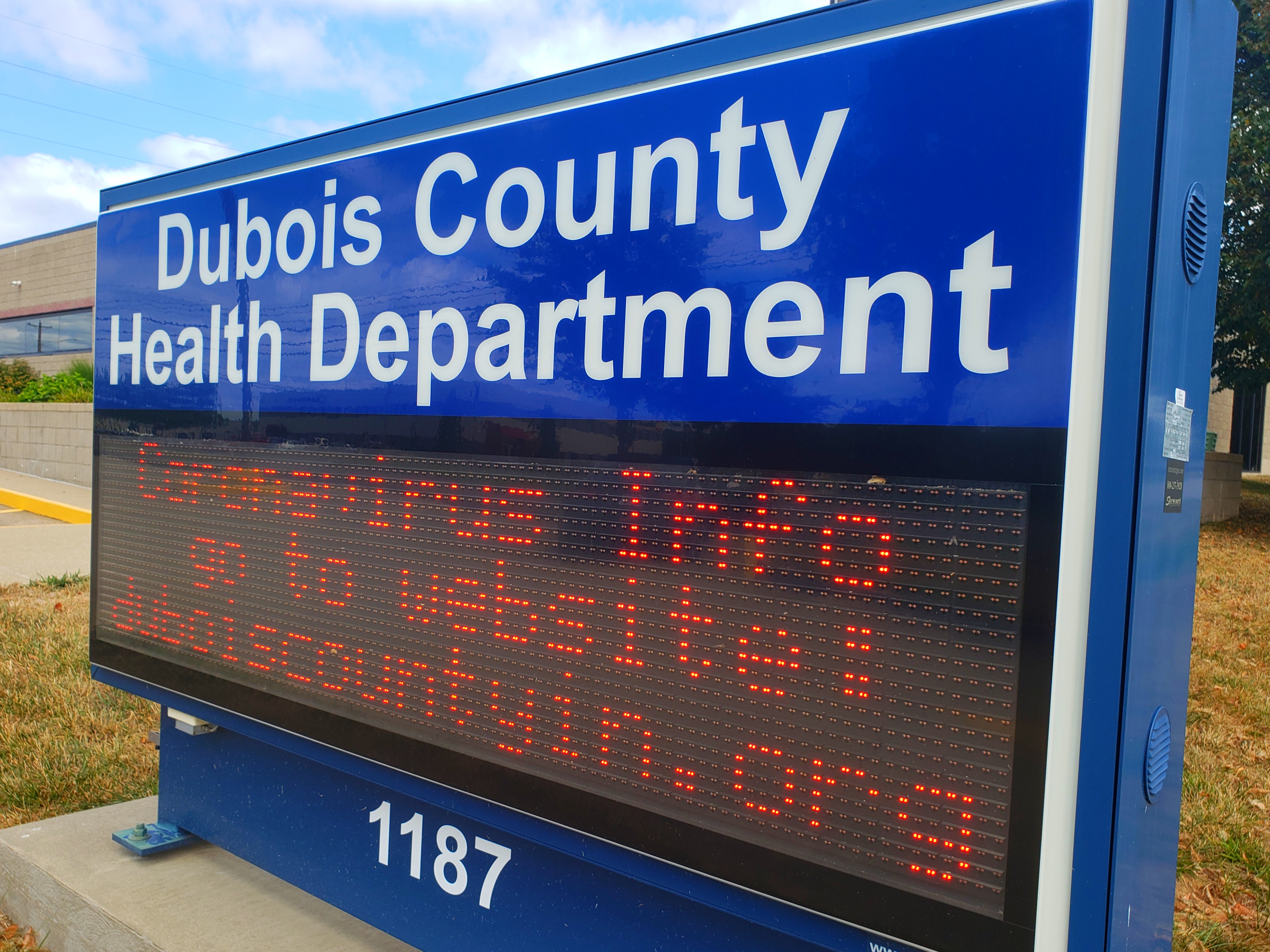 THIS JUST IN: Dubois County Reports 56 New Cases of COVID-19 Wednesday