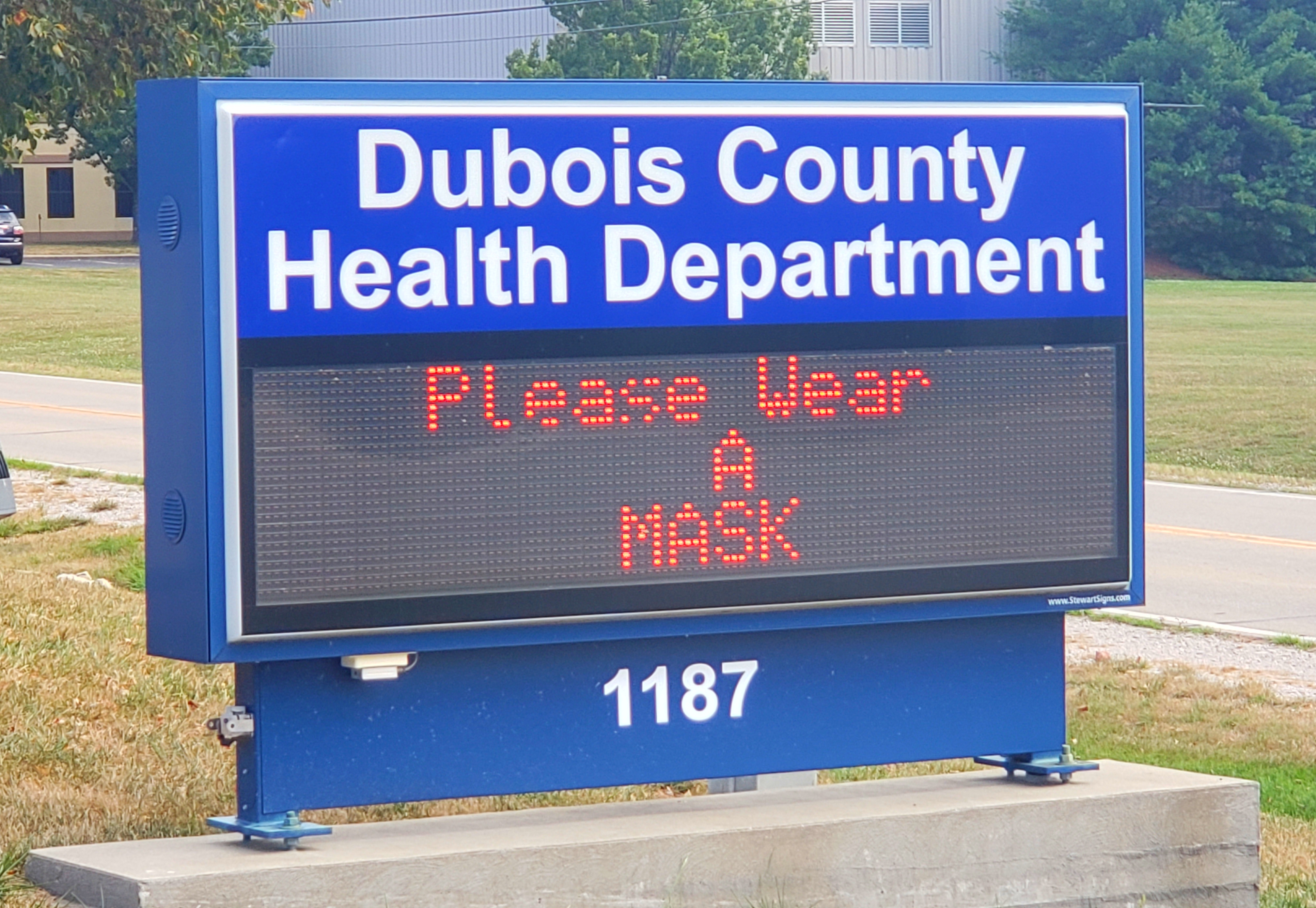 Number of Active Cases of COVID-19 in Dubois County Under 100 For First Time in Months