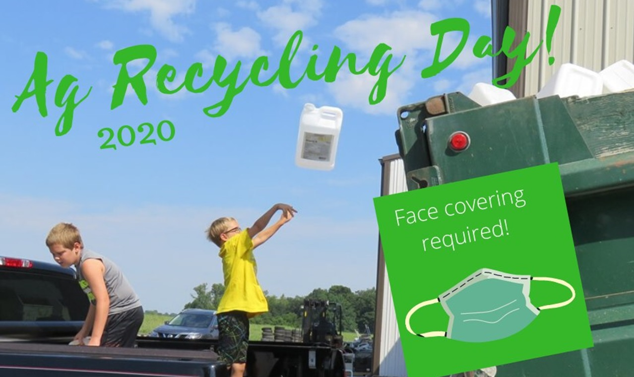 Farmers and Land Managers Can Recycle Empty Pesticide Jugs at Annual Ag Recycling Day August 5